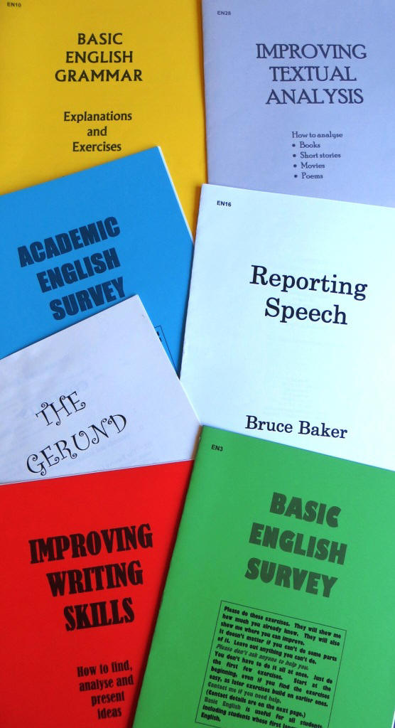 bruce baker  english teaching materials